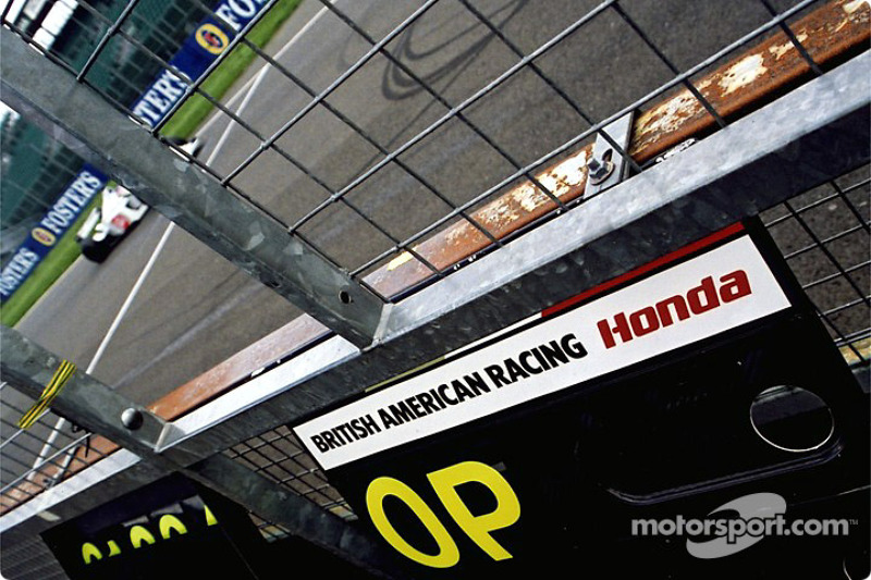 Tablero de Jacques Villeneuve