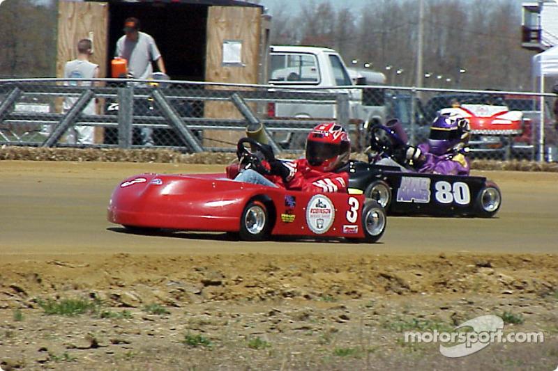 Junior Sportsman-2, 3 Lori Dahling, 80 Matt Hubbard