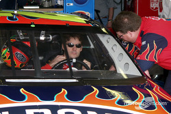 Gordon gets strapped in for happy hour