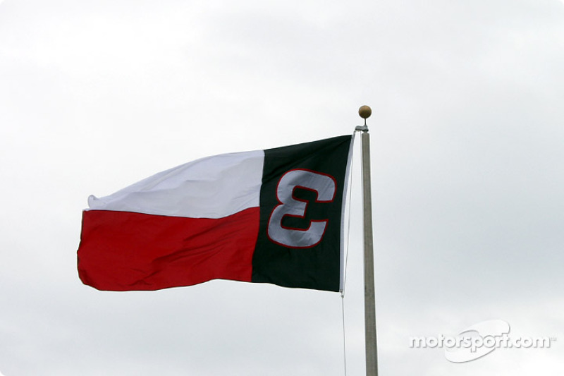 Texas Motor Speedway tribute to #3
