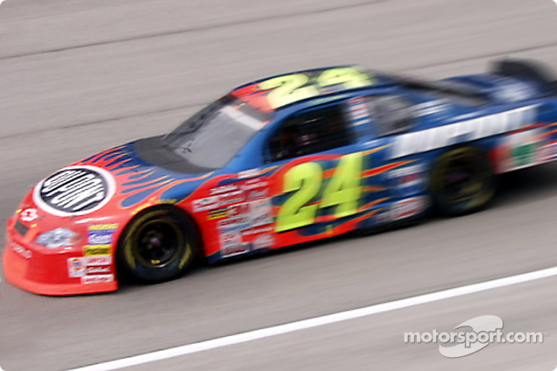 Runner-up Jeff Gordon