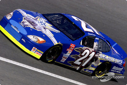Elliott Sadler with the colors of the U.S. Air Force
