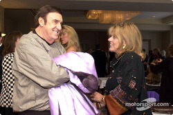 Lynn St. James and Jim Nabors
