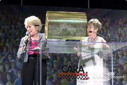 Betty Rutherford et Pam Jenkins