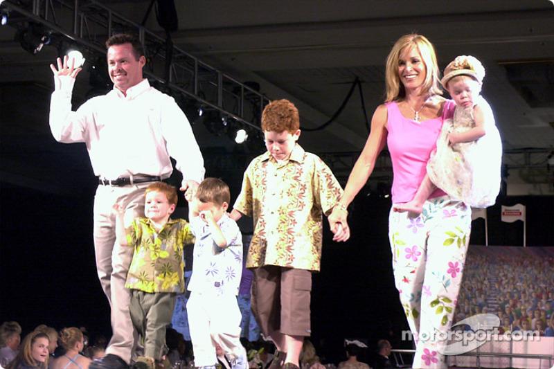 Billy Boat y su familia