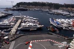 Rubens Barrichello and the port