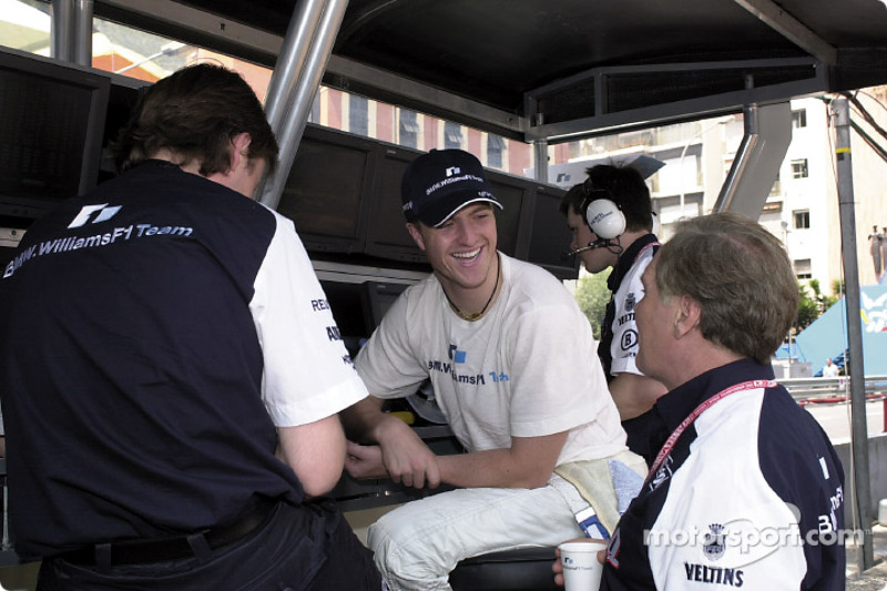 Ralf Schumacher and Patrick Head