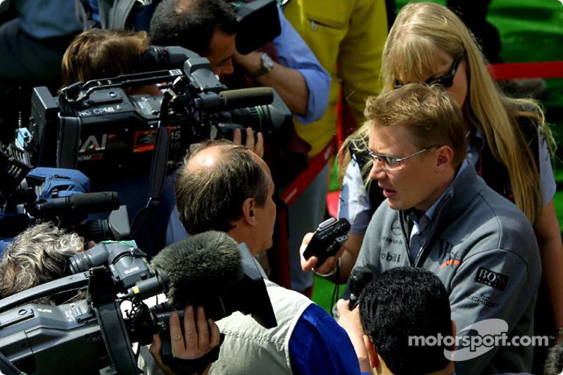 An interview with  Mika Hakkinen