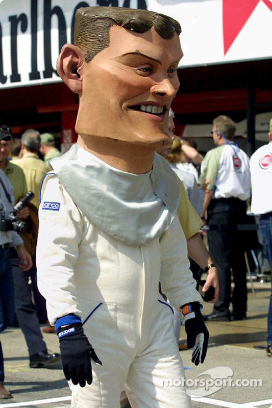David Coulthard, incognito