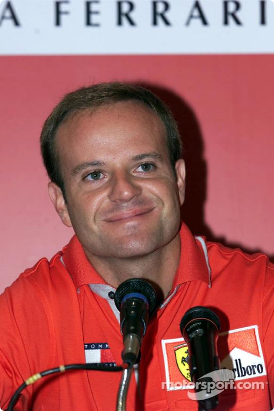 Marlboro Press Conference: Rubens Barrichello
