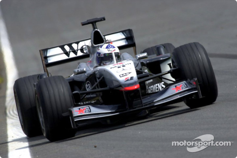 Fastest lap of the day for David Coulthard