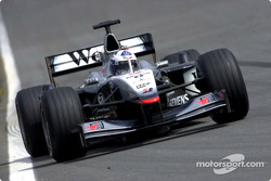Fastest lap, day for David Coulthard