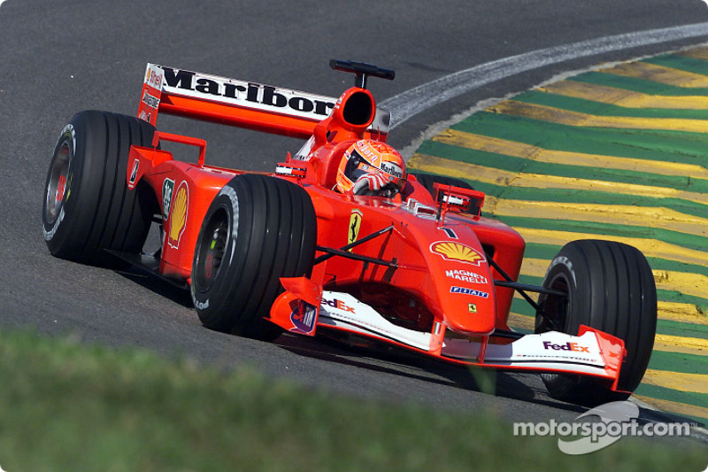 Interlagos 2001: Ferrari F2001
