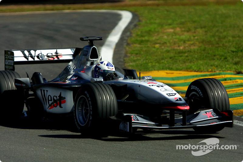 2001: Дэвид Култхард, McLaren-Mercedes MP4-16