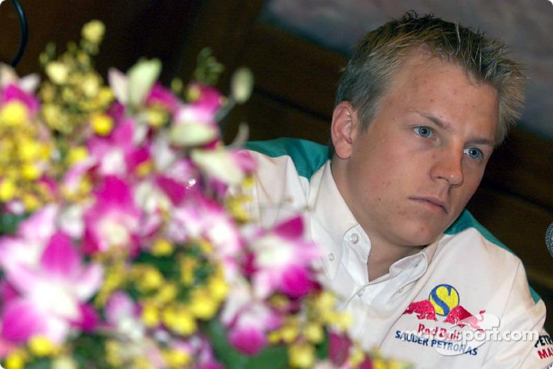 Kimi Räikkönen (2001, 21 años)