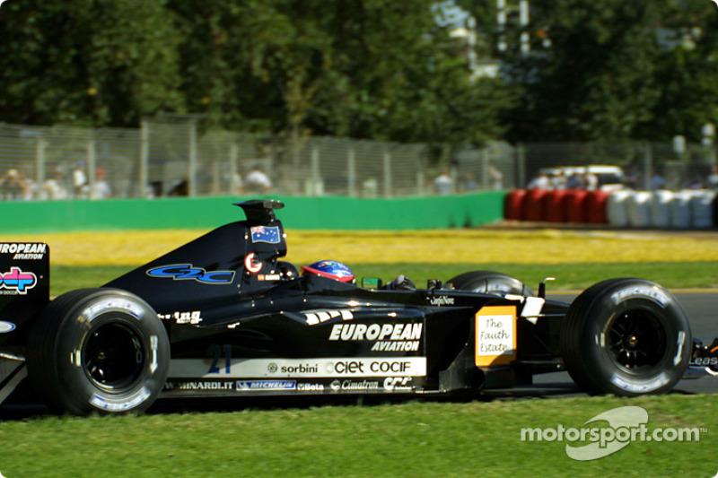 7. Fernando Alonso: 19 años y 218 días en el GP de Australia 2001