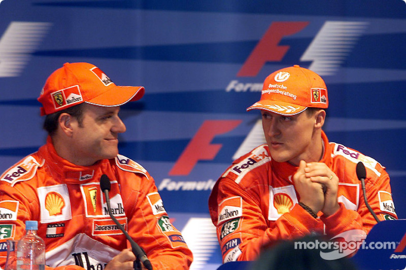 Press conference: Rubens Barrichello and Michael Schumacher