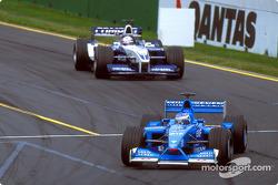 Giancarlo Fisichella and Juan Pablo Montoya