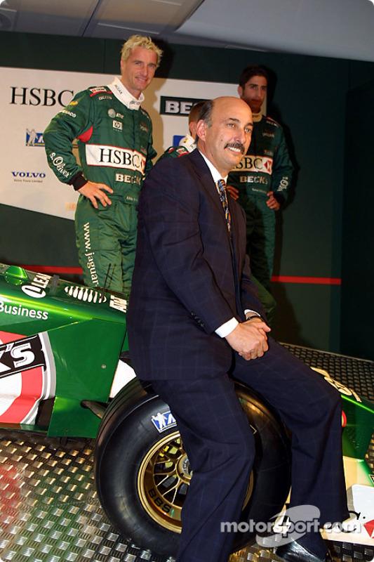 Eddie Irvine, Luciano Burti, Tomas Scheckter and Bobby Rahal
