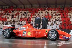 Los pilotos: Michael Schumacher y Rubens Barrichello