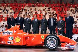 El equipo y el F2001