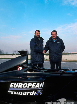 Paul Stoddart and Gian Carlo Minardi