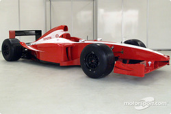 Toyota Formula 1 test car