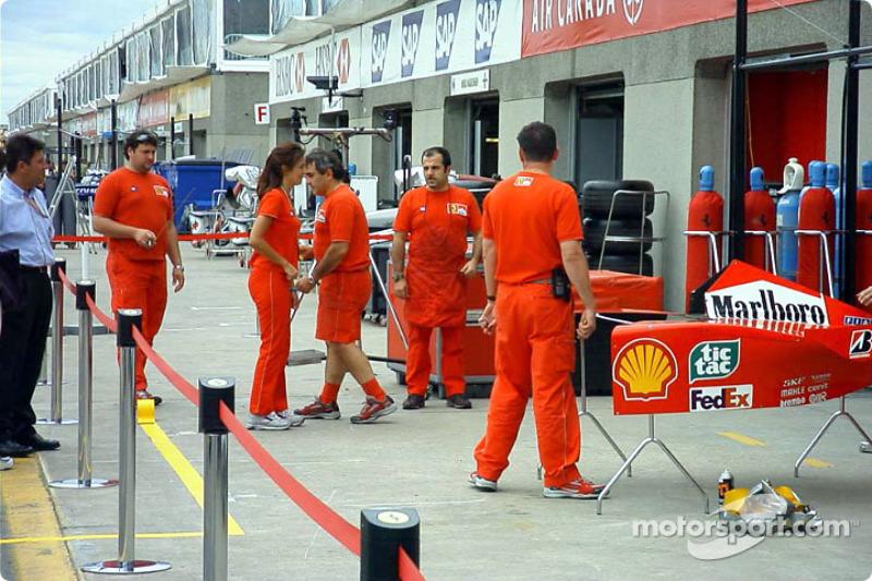Ferrari boys and girl