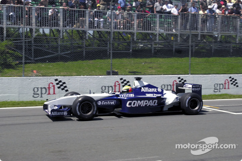 2001: Williams FW23 BMW (4 победы, 3-е место в КК)