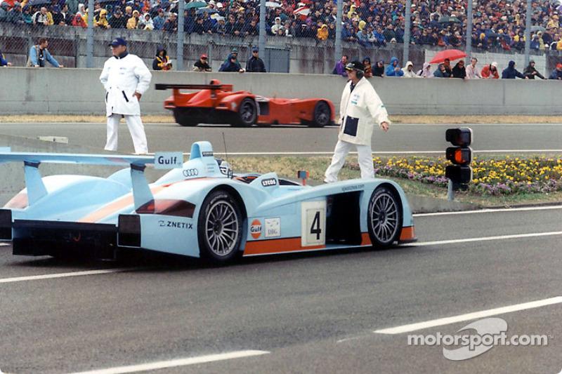 Stefan Johansson in the Johansson Motorsports Audi