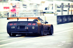 Corvette exits pitlane