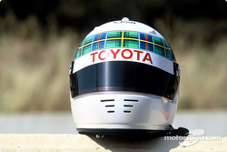 Casco de Allan McNish
