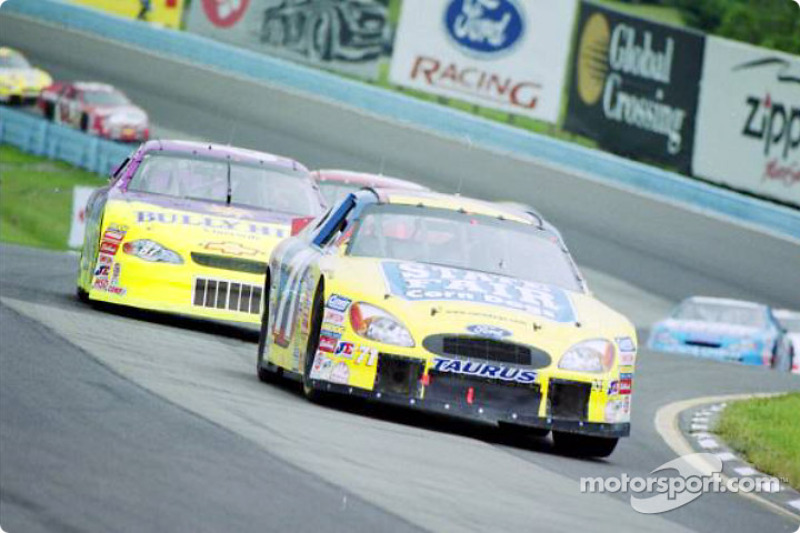 Scott Pruett leads the pack