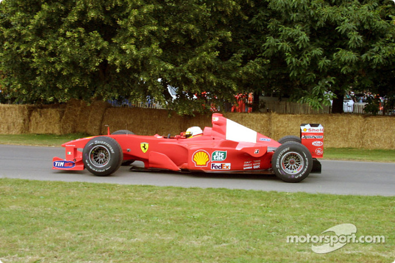 Luca Badoer at the Goodwood Festival of Speed