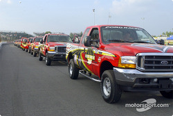 Official trucks parade