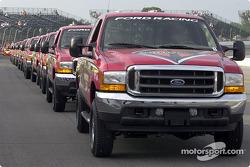 Official trucks parade