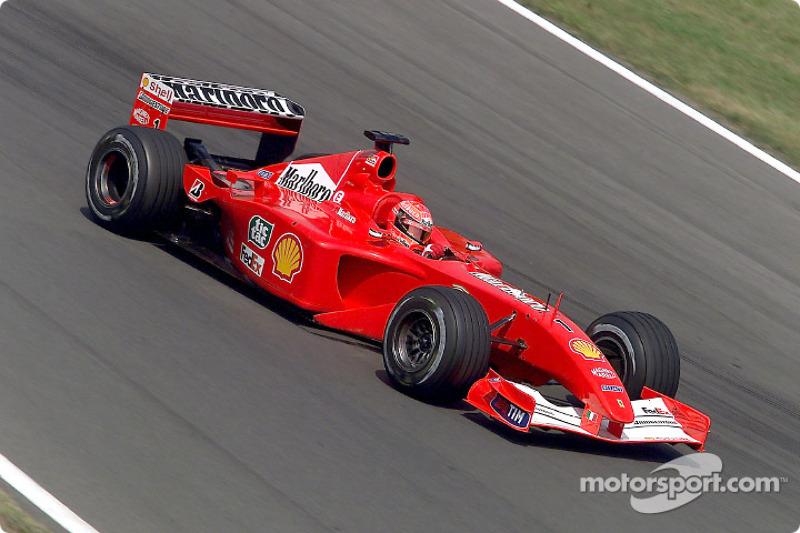 2001 Hungarian GP, Ferrari F2001