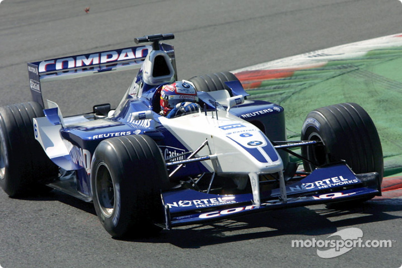 2001: Juan Pablo Montoya (Williams-BMW FW23)
