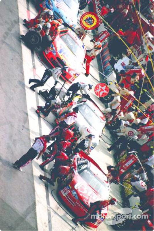Action dans les stands