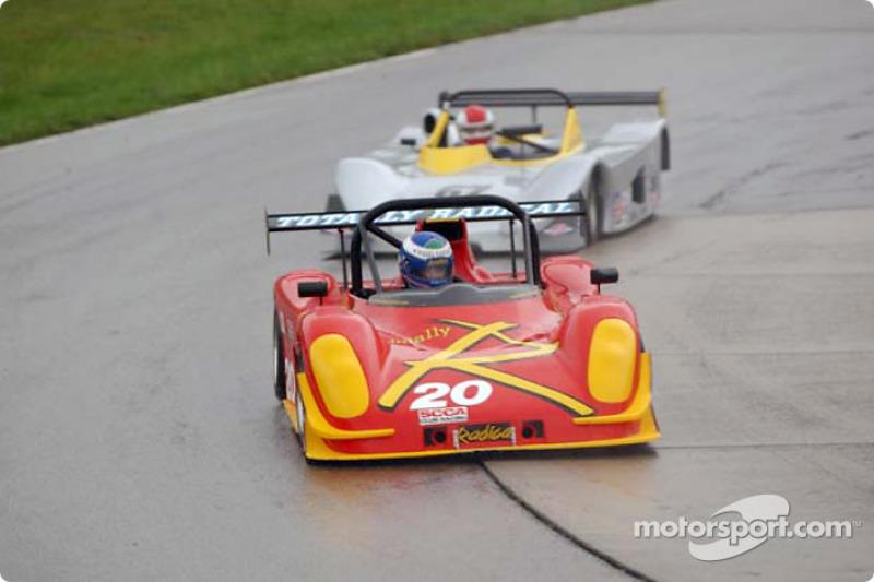 Race 1, C Sports Racer: Michael Vergers