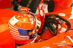 Casco especial para Michael Schumacher