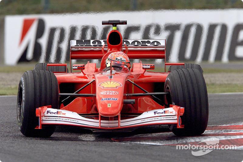 2001-2002: Michael Schumacher, Ferrari F2001