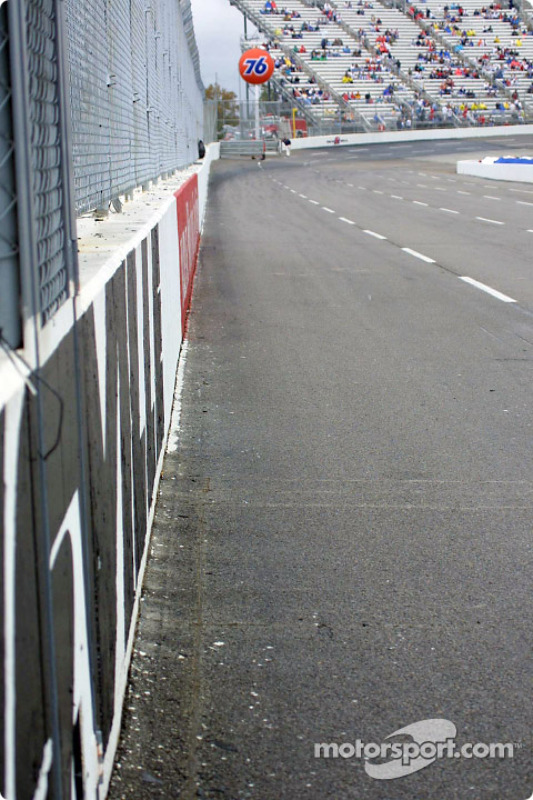 Track drying up