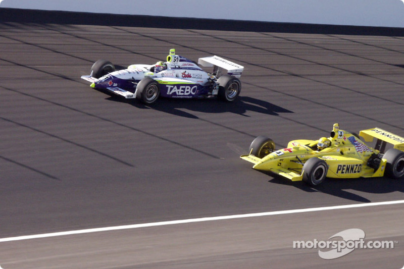 Sam Hornish Jr. and Buddy Lazier