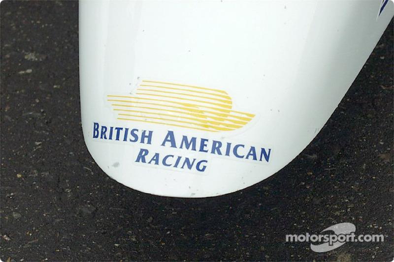 Nose cone: Formula 1 or Formula Ford?