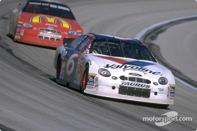 Valvoline Ford Taurus Driver Mark Martin Helped Ford Win