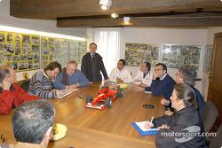 El nuevo gimnasio de Ferrari: reunión con la prensa