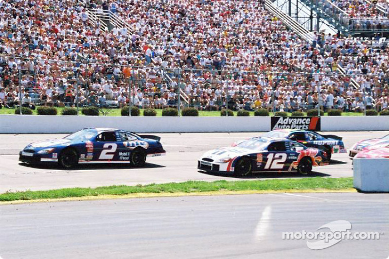 Rusty Wallace and Jeremy Mayfield