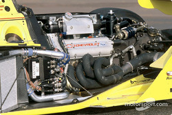 Chevrolet will return to Indy car competition in 2002 with the new 3.5-liter Chevy Indy V8