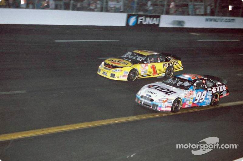 Jeff Burton y Steve Park